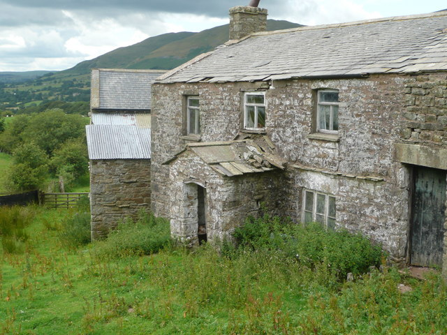 Deserted farmhouse at Sarthwaite