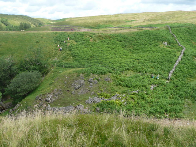Edge of intake land at Hebblethwaite