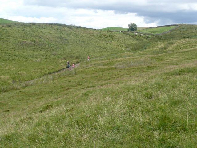 Fell track above Fellgate