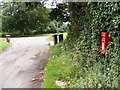 TM3564 : Sandy Lane &amp; Rendham Hill Postbox by Adrian Cable