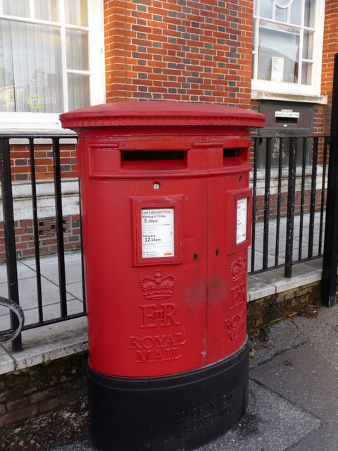 Parkstone: postbox №s BH14 189/190 and 191, Bournemouth Road