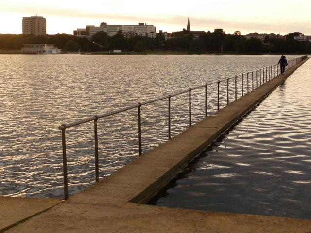 Poole: Poole Park lake