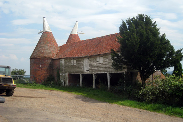 Unconverted Oast House at Old Farm, Lamberhurst Quarter, Lamberhurst, Kent
