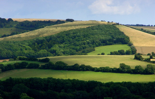 Old Winchester Hill © Jim Champion :: Geograph Britain and ...