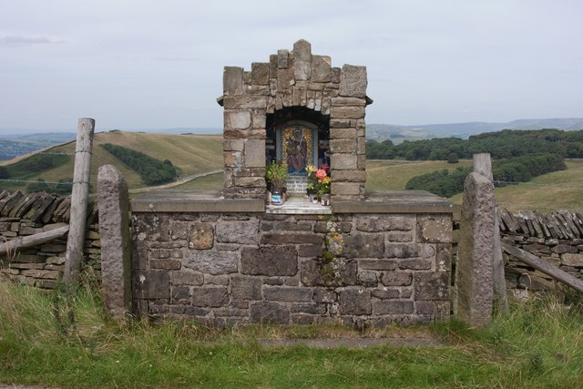 Roadside Shrine, Goyt's Lane