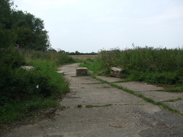 Former fuel supply area