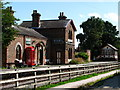 SJ3377 : Hadlow Road Station, Willaston by El Pollock