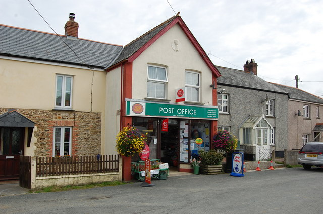 Post office week st mary julian p guffogg cc by sa 2 0 geograph britain and ireland - Great britain post office ...