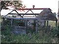 TF3907 : Old shed, Seadyke, near Murrow by Richard Humphrey