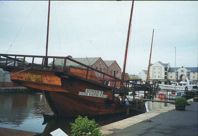 Boats at Exeter Maritime Museum