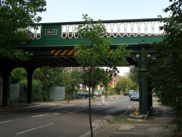 Railway bridge, Turney Road