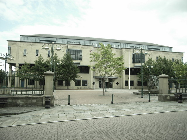 The Bradford Law Courts, Exchange Square, Bradford