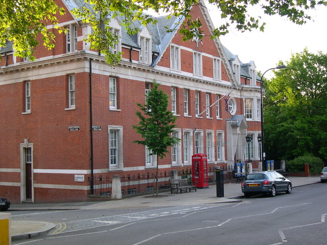 Hampstead Police Station NW3