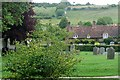SU7691 : From Turville churchyard by Graham Horn
