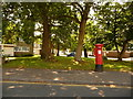 SZ2093 : Highcliffe: postbox № BH23 95, Beacon Drive by Chris Downer