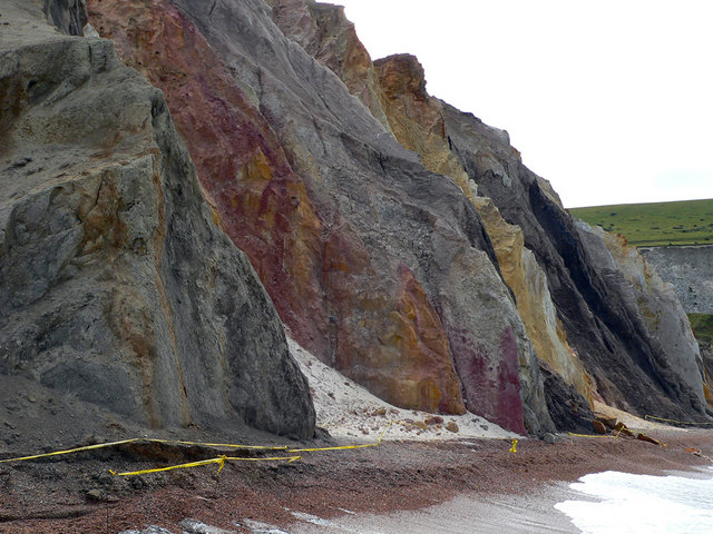Colourful Cliff