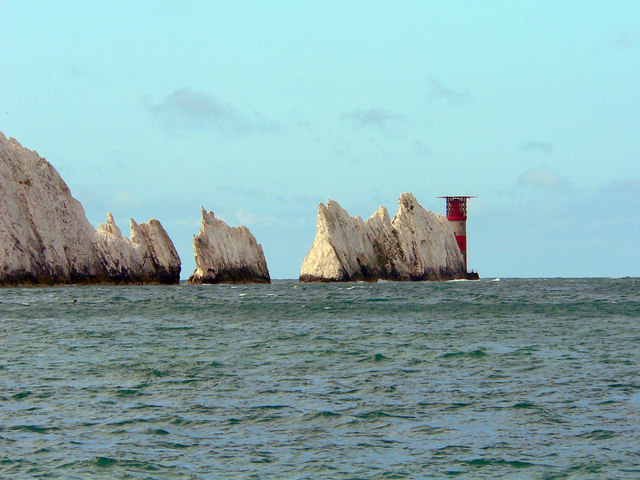 Across Alum Bay