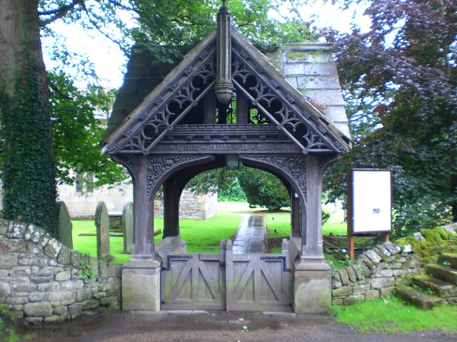Lych Gate to Church of St. Michael, Low Warden