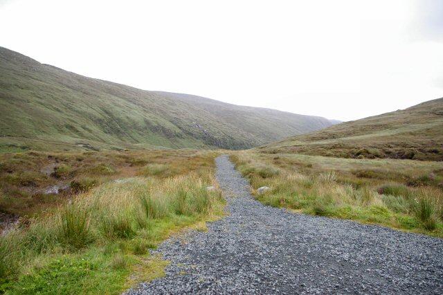 Track leading down to Loch Gleann Bheatha