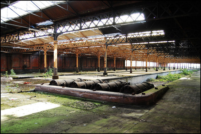 Abandoned Manchester Mayfield station