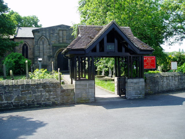 Lych Gate - St Mary's Church, Heworth