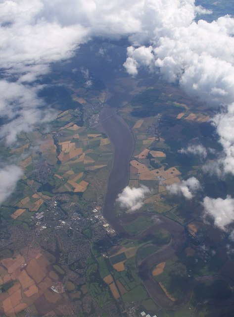 Alloa From The Air