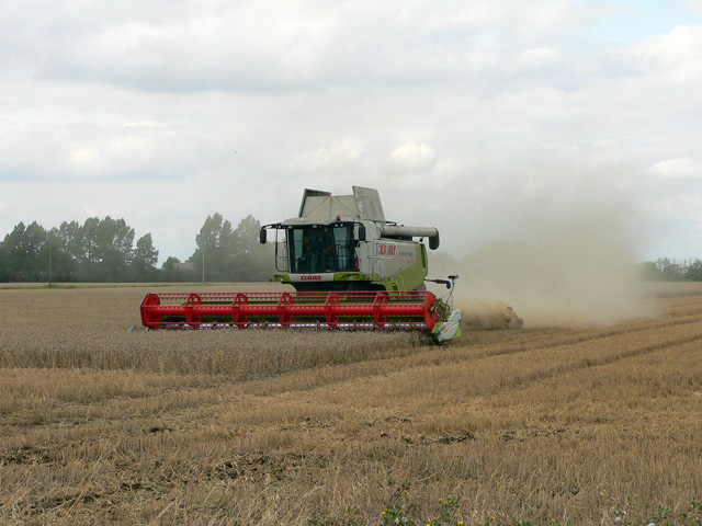 Harvester at Work