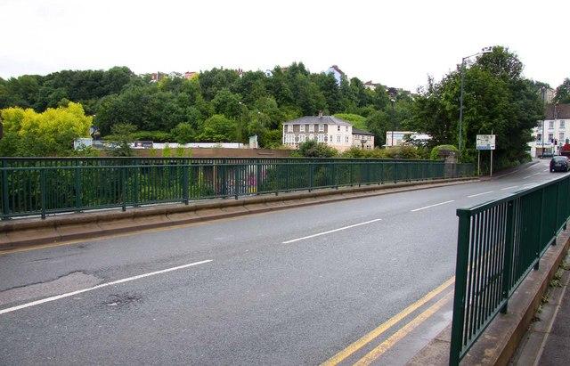 Road over Totterdown Bridge