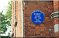 Photo of Robert Lynd blue plaque