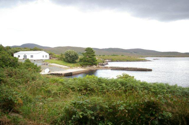 Slipway on Loch Chrathaí