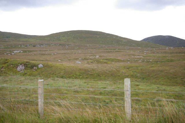 Moorland pasture near Cró Bheithe