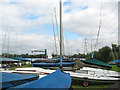TL3807 : Broxbourne Sailing Club - on land by Stephen Craven