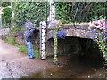 SX8897 : The ford and footbridge in Pump Street : Week 33