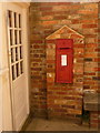 SZ0387 : Brownsea Island: postbox № BH15 318 by Chris Downer