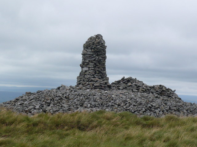 Cairn on Currick Fell Top