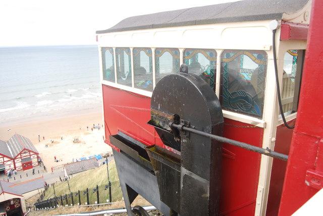 Car, Funicular railway, Saltburn-by-the-sea