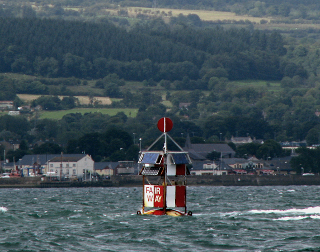 Belfast Fairway Buoy (old position)