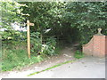 SO8980 : Monarch�s Way Footpath from Brake Lane  to Brake Mill Farm, Worcestershire by Richard Rogerson