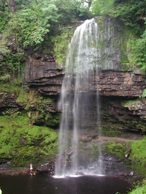 Henrhyd Falls, Coelbren, Brecon Beacons