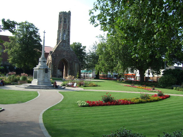 Greyfriars Tower and Garden, Kings Lynn