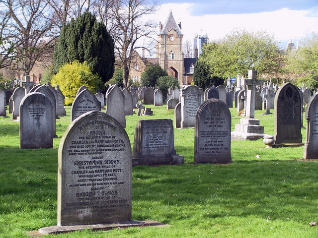 Nottingham Road Cemetery, Derby