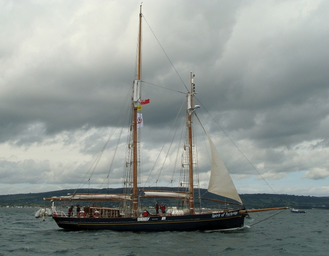 'Spirit of Fairbridge', Tall Ships Belfast 2009