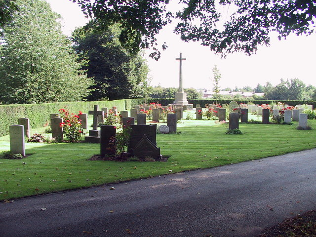 War Graves at Nottingham Road Cemetery, Derby