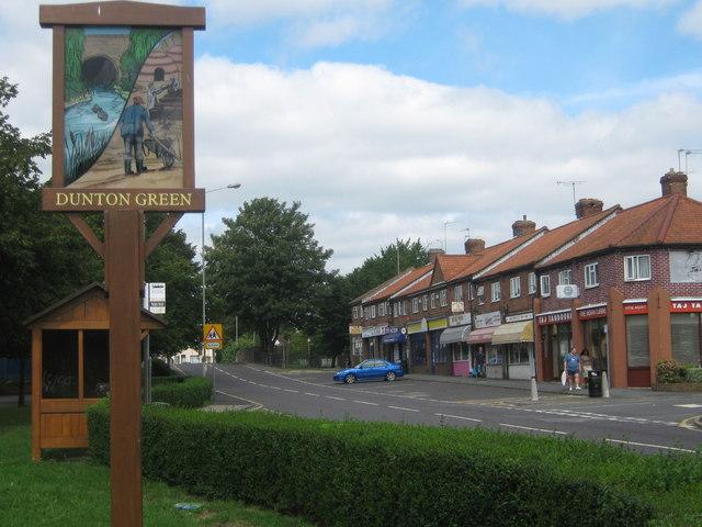 Dunton Green Village Sign 169 David Anstiss Geograph