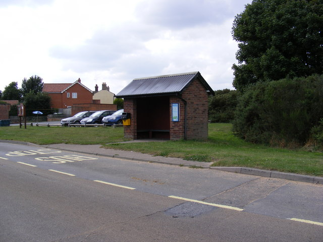 Coldfair Green Bus Shelter