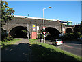 TQ3577 : Brighton Line railway bridge over Surrey Canal Road by Stephen Craven