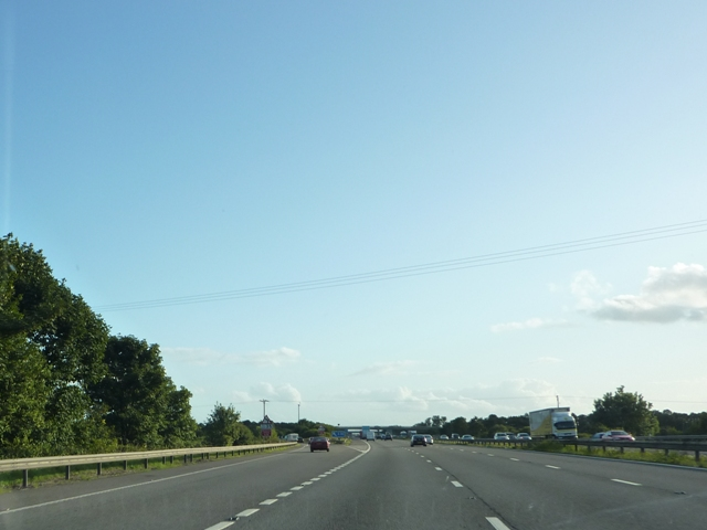 M5 Southbound Junction 22