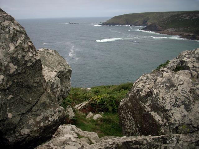 Gala Rocks from Zennor Head
