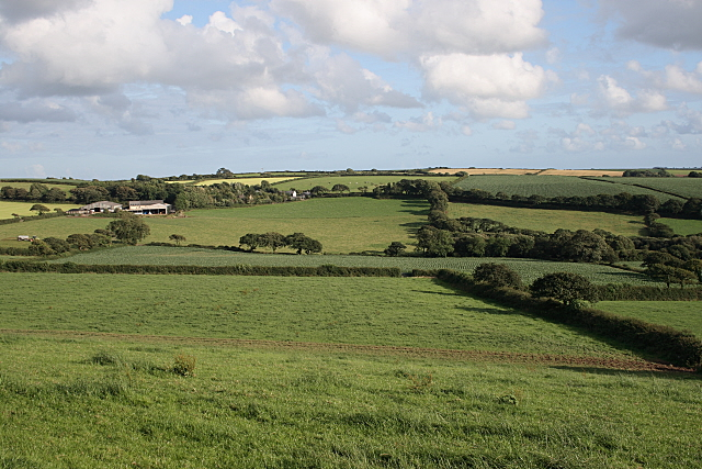 Farmland near Treveale