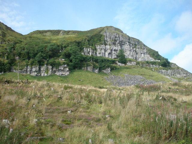 Cliff Face of Benaughlin